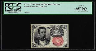 1874 Fifth Issue Ten Cent Fractional Currency Note