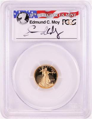 2015-W $5 Proof American Gold Eagle Coin PCGS PR70DCAM