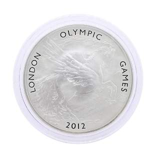 2012 Great Britain Ten Pounds London Olympic Games 5