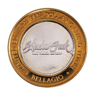 .999 Fine Silver Bellagio Las Vegas, NV $10 Limited