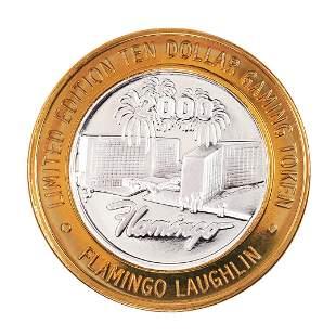 .999 Silver Flamingo Laughlin, NV $10 Casino Limited