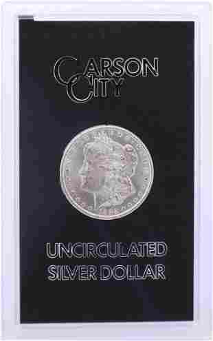 1882-CC $1 Morgan Silver Dollar Coin GSA Hoard
