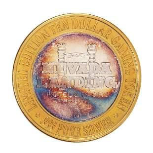 .999 Silver Nevada Landing Jean, NV $10 Casino Limited