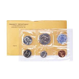 1962 (5) Coin Proof Set in Envelope