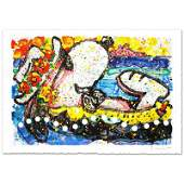 Tom Everhart Chillin Limited Edition Lithograph