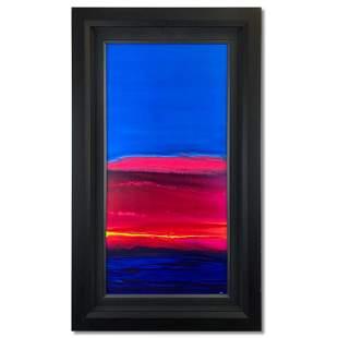 """Wyland """"Ocean Four"""" Original Acrylic On Canvas"""