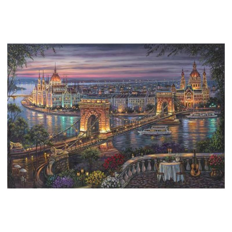 """Robert Finale """"Budapest"""" Limited Edition Giclee on"""
