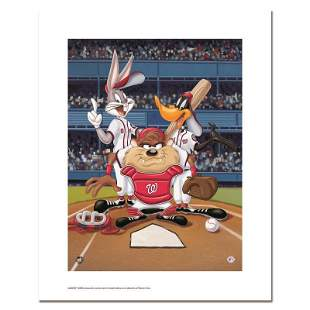 """Looney Tunes """"At the Plate (Nationals)"""" Limited Edition"""