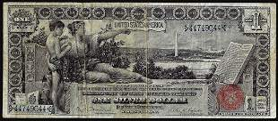 896 $1 Educational Silver Certificate Note