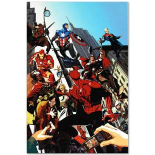 """Marvel Comics """"Age of Heroes #1"""" Limited Edition Giclee"""