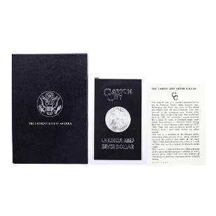 1883-CC $1 Morgan Silver Dollar Coin GSA Hoard