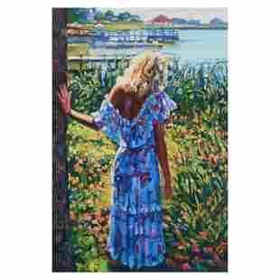 "Howard Behrens (1933-2014) ""My Beloved, By The Lake"""