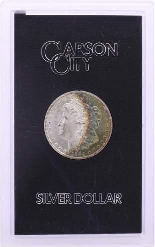 1884-CC $1 Morgan Silver Dollar Coin GSA Hoard w/Box