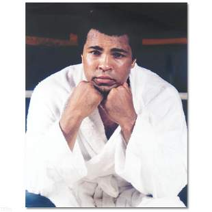 """Ali with white robe"" Photograph"