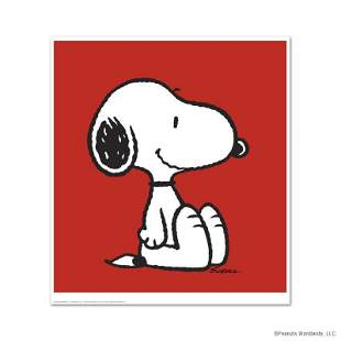 """Peanuts """"Snoopy: Red"""" Limited Edition"""