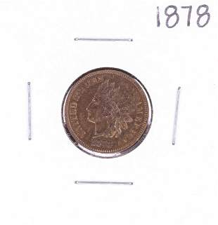 1878 Indian Head Cent Coin