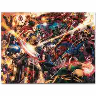 """Marvel Comics """"New Avengers #50"""" Limited Edition Giclee"""