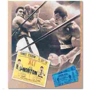 """Ken Norton and Ali Ticket"" Photograph"