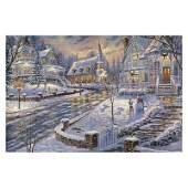 "Robert Finale ""Christmas Snow"" Limited Edition Giclee"