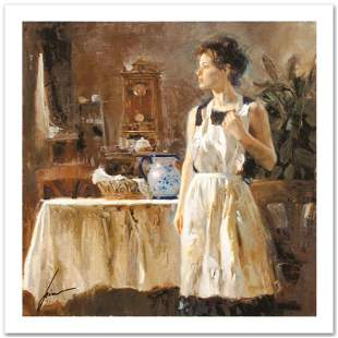 """Pino (1939-2010) """"Sunday Chores"""" Limited Edition Giclee"""