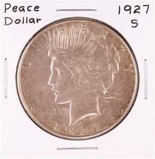 1927-S $1 Morgan Silver Dollar Coin