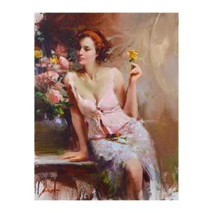 """Pino (1939-2010) """"Sweet Scent"""" Limited Edition Giclee"""