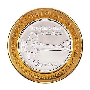 .999 Silver McCarran International Airport Las Vegas,