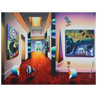 """Ferjo """"Infinite Beauty"""" Original Oil on Canvas"""