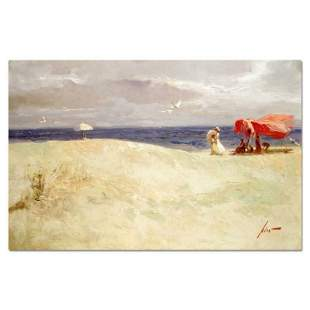 """Pino (1939-2010) """"White Sand"""" Limited Edition Giclee on"""