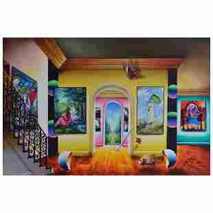 "Ferjo ""Masters Wonderful Ga"" Original Oil on Canvas"