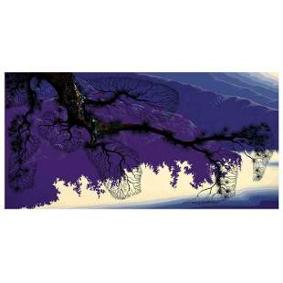 "Eyvind Earle (1916-2000) ""Purple Coastline"" Limited"