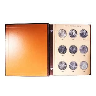 Book of Brilliant Uncirculated 1986-2005 $1 American