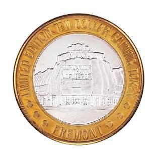 .999 Silver Sam Boyd's Fremont Las Vegas $10 Casino