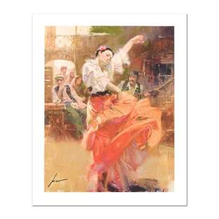 """Pino (1939-2010) """"Flamenco In Red"""" Limited Edition"""