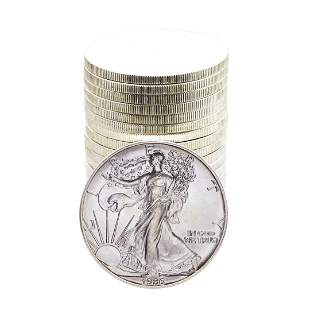 Roll of (20) Brilliant Uncirculated 1986 $1 American