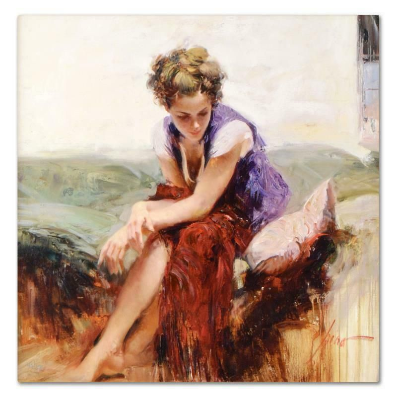 """Pino (1939-2010) """"Francesca"""" Limited Edition Giclee on"""