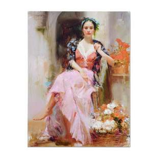 """Pino (1939-2010) """"Country Girl"""" Limited Edition Giclee"""