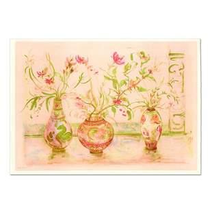 "Edna Hibel (1917-2014) ""Chinese Vase"" Limited Edition"