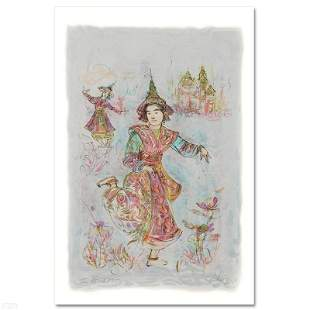 "Edna Hibel (1917-2014) ""Thai Dancers"" Limited Edition"