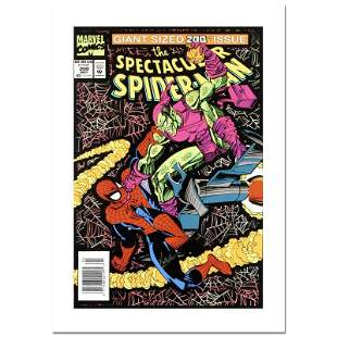 "Stan Lee - Marvel Comics ""Spectacular Spider-Man #200"""
