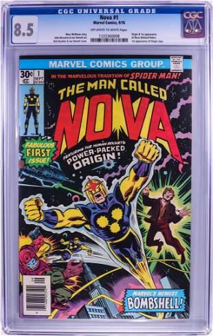 Marvel Comics Group The Man Called Nova #1 Comic Book