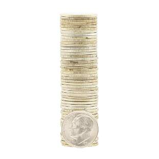 Roll of (50) 1951-S Brilliant Uncirculated Roosevelt