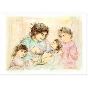 "Edna Hibel (1917-2014) ""Marilyn and Children"" Limited"