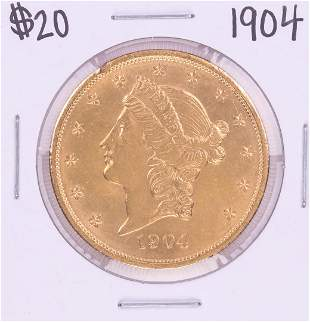 04 $20 Liberty Head Double Eagle Coin