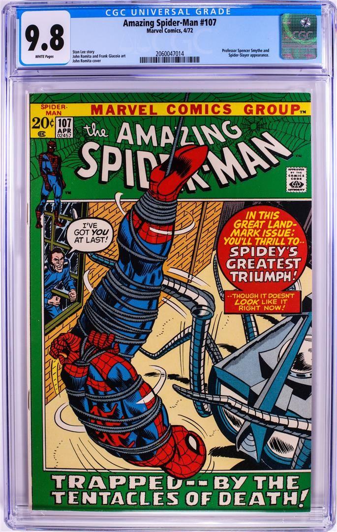 Marvel Comics Amazing Spider-Man #107 Comic Book 4/72