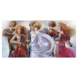 """Lena Sotskova """"Just Love"""" Limited Edition Giclee on"""