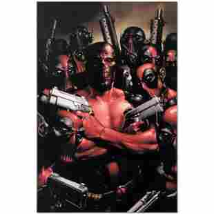 "Marvel Comics ""Deadpool #2"" Limited Edition Giclee on"