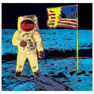 "Andy Warhol ""Moonwalk"" Limited Edition Serigraph on"
