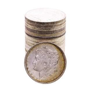 Roll of (20) Brilliant Uncirculated 1885-O $1 Morgan