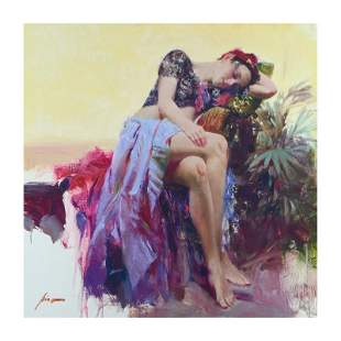 """Pino (1939-2010) """"Siesta"""" Limited Edition Giclee on"""